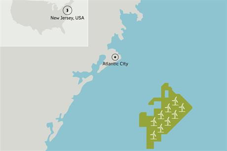 Dong has acquired the area 18km from the US's northeast coast