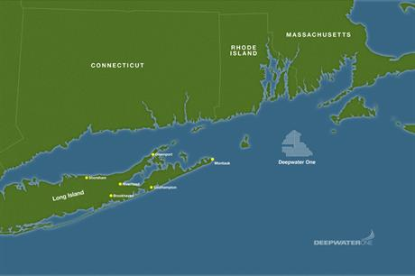 The project will transmit power to Long Island