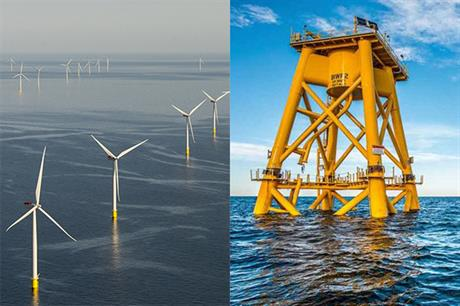Denmark has 1.3GW of installed offshore wind capacity; the US has 30MW under construction