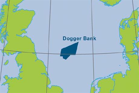 The Dogger Bank zone is 165 kilometres from the Yorkshire coast