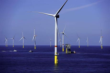 Gode Wind 1 consists of 55 Siemens Gamesa SWT-6.0-154 turbines (pic credit: Ørsted)