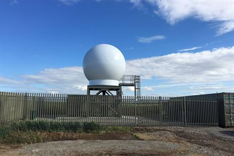 Dong Energy has installed two radar stations on England's east coast to measure wind data at its Westermost Rough offshore project