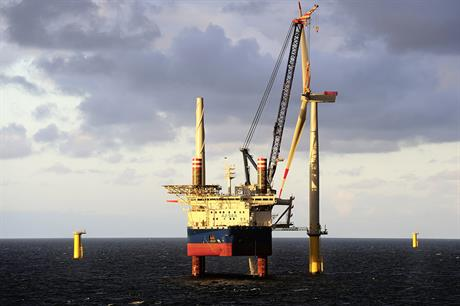 The first power has been exported from Borkum Riffgrund 1