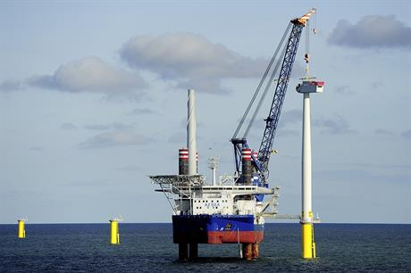 Dong Energy's Borkum Riffgrund 1 project in Germany