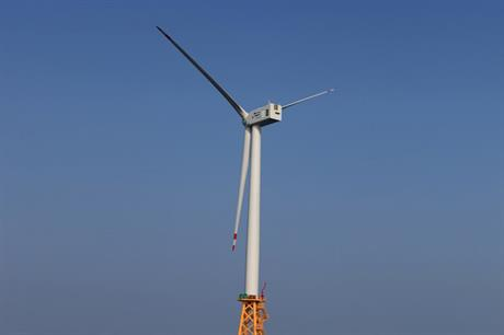 Doosan has previously supplied 3MW turbines (above) to a number of projects in its native South Korea