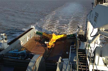 ESS used its Scar plough to clear cable routes at Westermost Rough