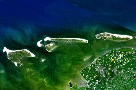 The joint venture will survey an areas to the north of the East Frisian islands