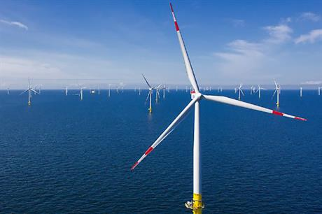 EnBW's Baltic 2 project in the German Baltic Sea