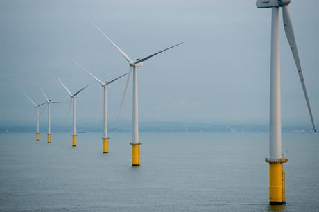 Under UK government ownership, the Green Investment Bank supported a number of offshore projects, including E.on's Rampion site (pic: E.on / Facebook)