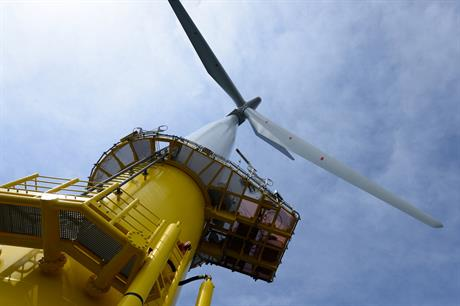 The Lincs project uses 75 Siemens 3.6MW turbines