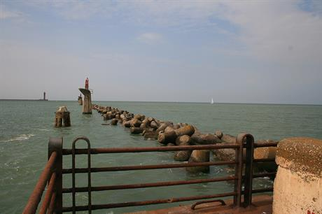 The East Mole at Dunkirk Harbour