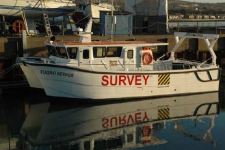 Fugro EMU's Seeker vessel will undertake the UXO survey at Beatrice