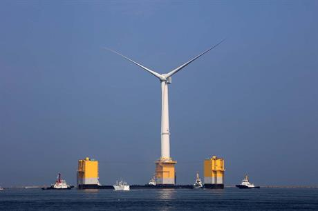MHI's 7MW floating turbine has been installed off Fukushima