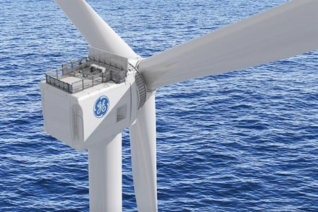 GE first announced its 12MW direct-drive turbine, which will have a 220-metre rotor, 107-metre blades, and a tip height of 260 metres, in March