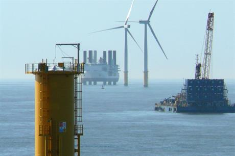 The GIB owns a stake in the Lynn and Inner Dowsing offshore wind project in the UK