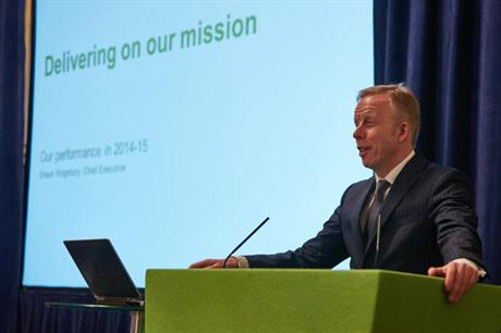 Green Investment Bank chief executive Shaun Kingsbury at the annual review