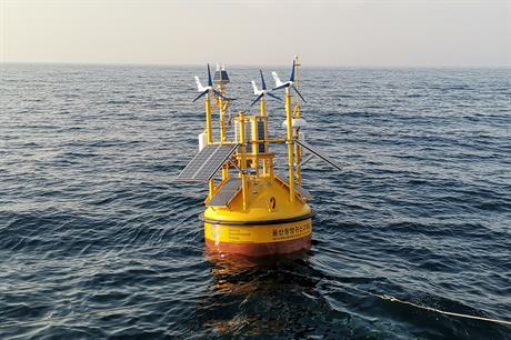 GIG deployed South Korea's first floating lidar at the site of a proposed 1.4GW project off Ulsan City