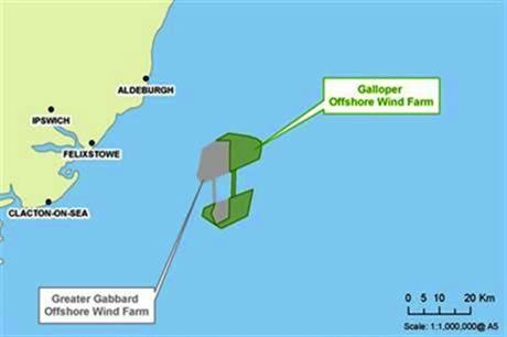 Galloper would be located off the east coast of the UK