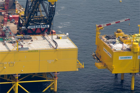 Siemens and Heerema also worked together on the HelWin Beta platform