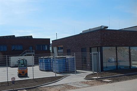 The facility on Helgoland is now complete