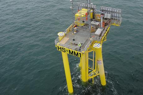 Data from the Hornsea met mast is pending release