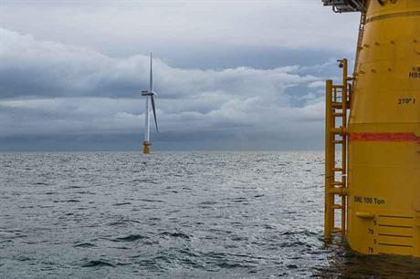 Floating offshore turbines could be easier to install and maintain with CAES technology( pic: Øyvind Gravås / Woldcam / Statoil)