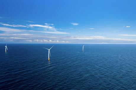 Saipem installed the world's first commercial floating offshore project, Equinor's 30MW Hywind Scotland (above)