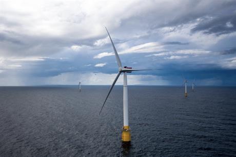 Hywind uses five of Siemens Gamesa's SWT-6.0-154 turbines (pic credit: Øyvind Gravås / Woldcam - Statoil ASA)