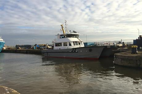 The new vessel is based on a design by Global Marine