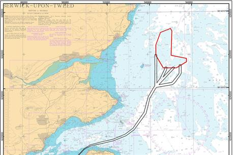 Inch Cape is planned for a site off south-east Scotland, with Beatrice located further north