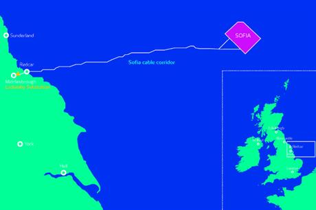 Innogy's Sofia project would be installed 165km from the east coast of England