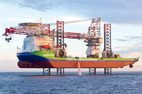 The Innovation has worked on a number of major offshore projects