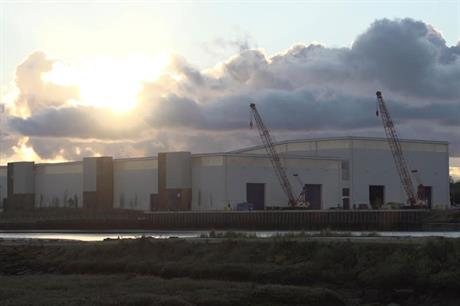 Vestas' Isle of Wight plant