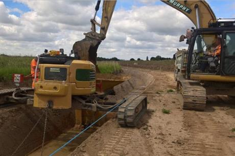 J Murphy & Sons carrying out similar cabling to the work they will undertake for Triton Knoll