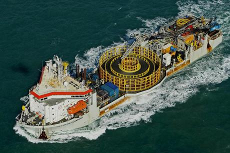 Jan De Nul's Willem de Vlamingh installation vessel will carry out the work