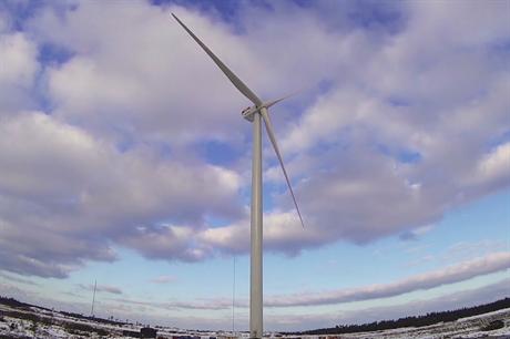 MHI-Vestas' V164 8MW turbine installed at the Osterild onshore test site