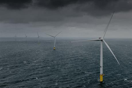 A total of 90 MHI Vestas V164 9.5MW turbines will be installed at Triton Knoll