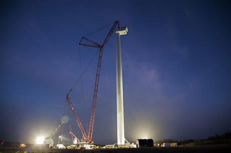 A version of the V164 model was installed at Osterild in 2014 (pic: MHI Vestas)