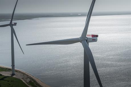Vattenfall opted for the 8MW MHI Vestas turbine for the Horns Rev 3 project