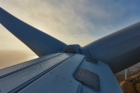 MHI Vestas will supply 49 8.3MW V164 turbines to Horns Rev 3