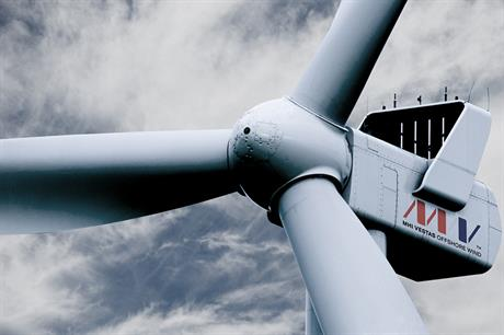 The V112-3.3MW turbine will be installed at the Nobelwind site off Belgium