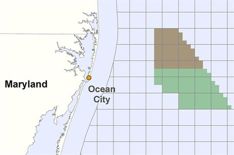 US Wind won the tender to develop a site off Maryland in August 2014