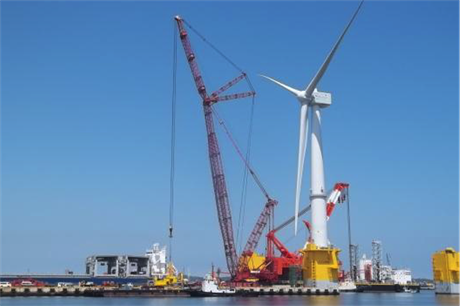 The 7MW floating turbine is ready for deployment in Fukushima