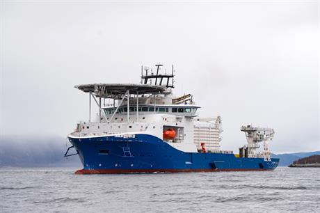 NKT named its new cable-laying vessel Victoria in May 2017