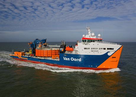 Van Oord will deploy its cable-laying ship Nexus, among other vessels, to build the project