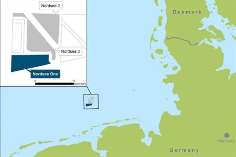 Proceeds will be used to partly fund the Nordsee One project