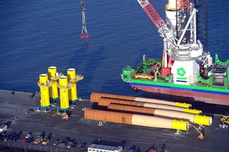 Northland Power and Innogy's Nordsee One offshore wind project is under construction in the German North Sea