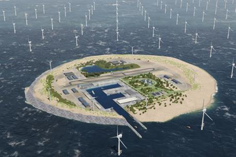 The consortium hopes to integrate 180GW of offshore wind in the North Sea by 2045 (pic credit: Tennet)