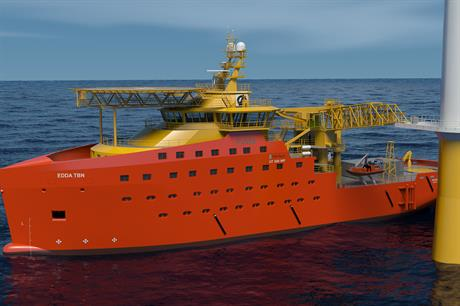 Ostensjo Rederi will supply a service operation vessel (SOV) to serve the 580MW Race Bank project