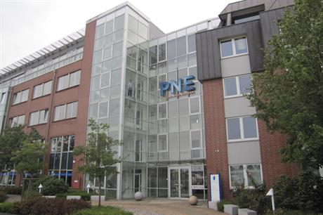 PNE's headquarters in Cuxhaven, Germany
